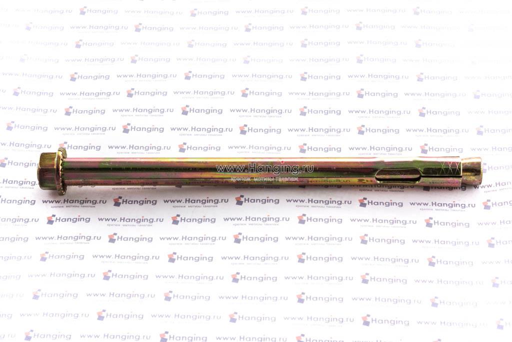 Вид на анкерный болт с гайкой М10/12х180, Letfix