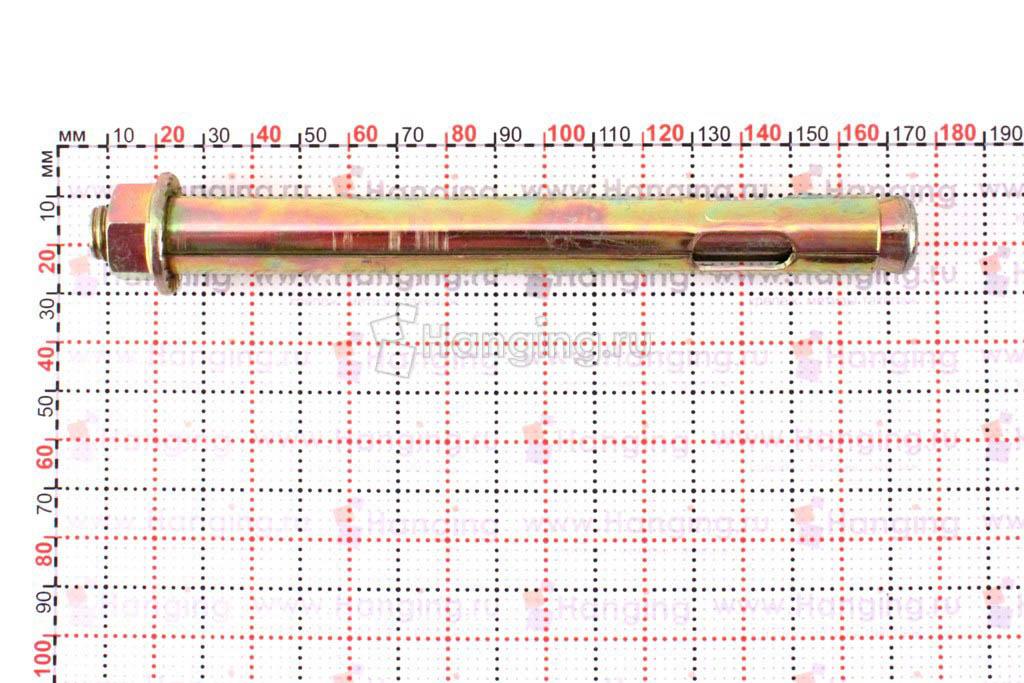 Размеры анкерного болта 16х150