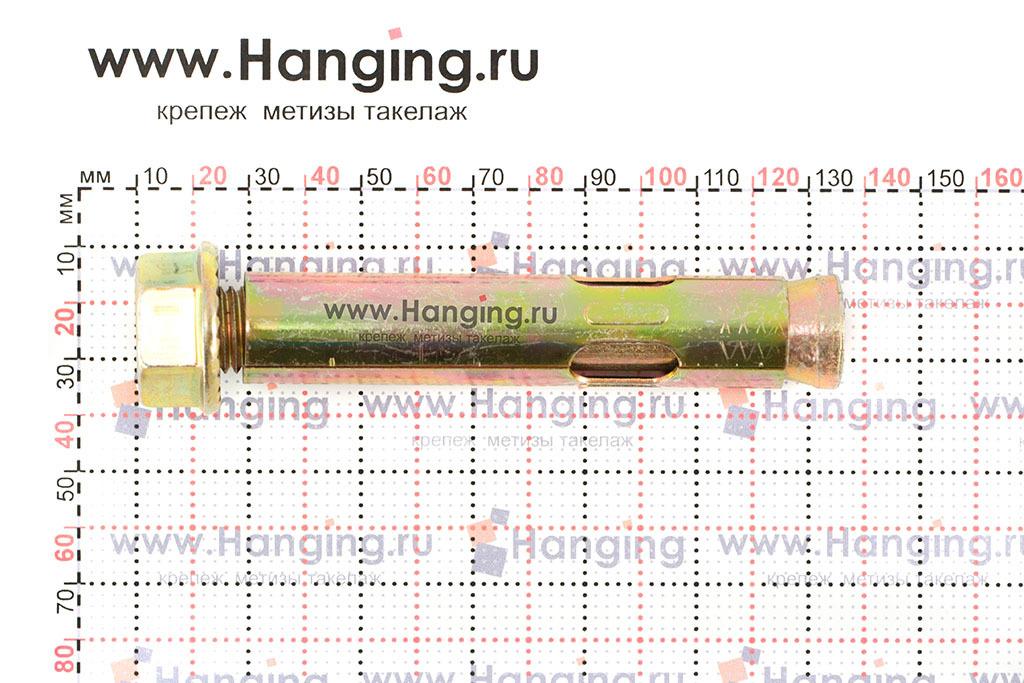 Размеры анкерного болта с гайкой М16/20х110