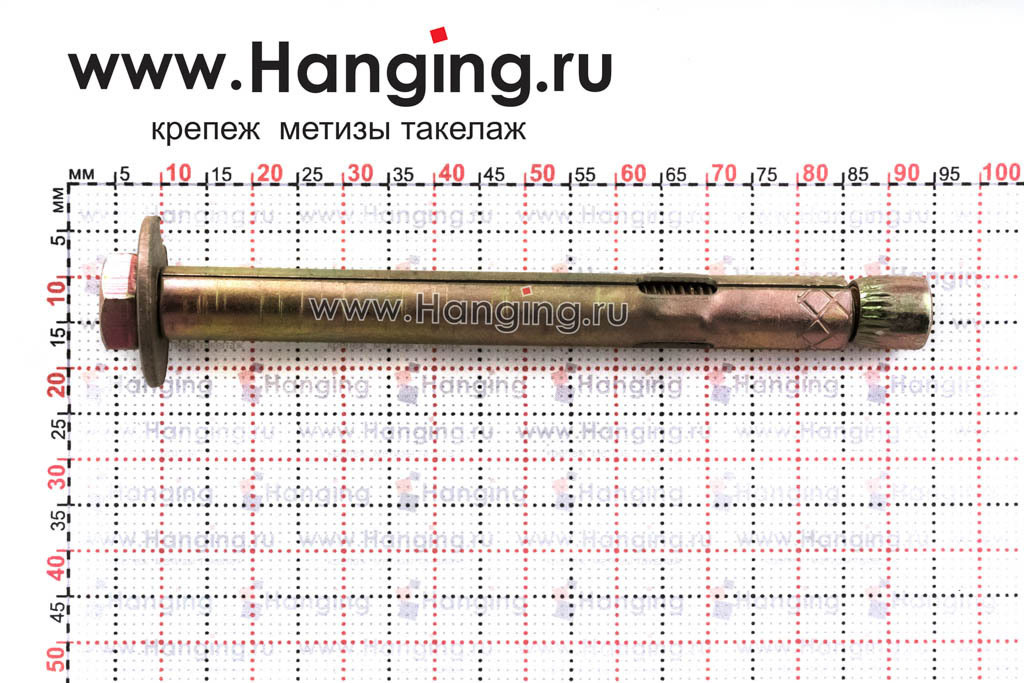 Размеры анкерного болта М6/8*80