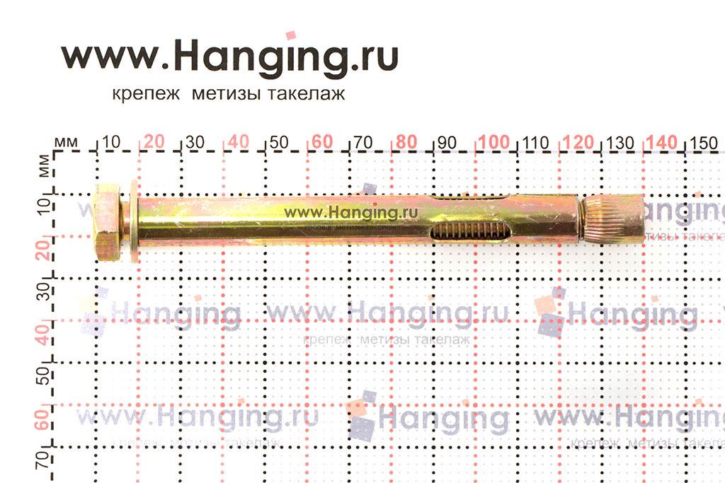 Размеры анкерного распорного болта М10/12х120