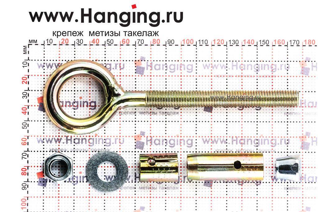 Разбор анкерного болта с кольцом М10/12х100
