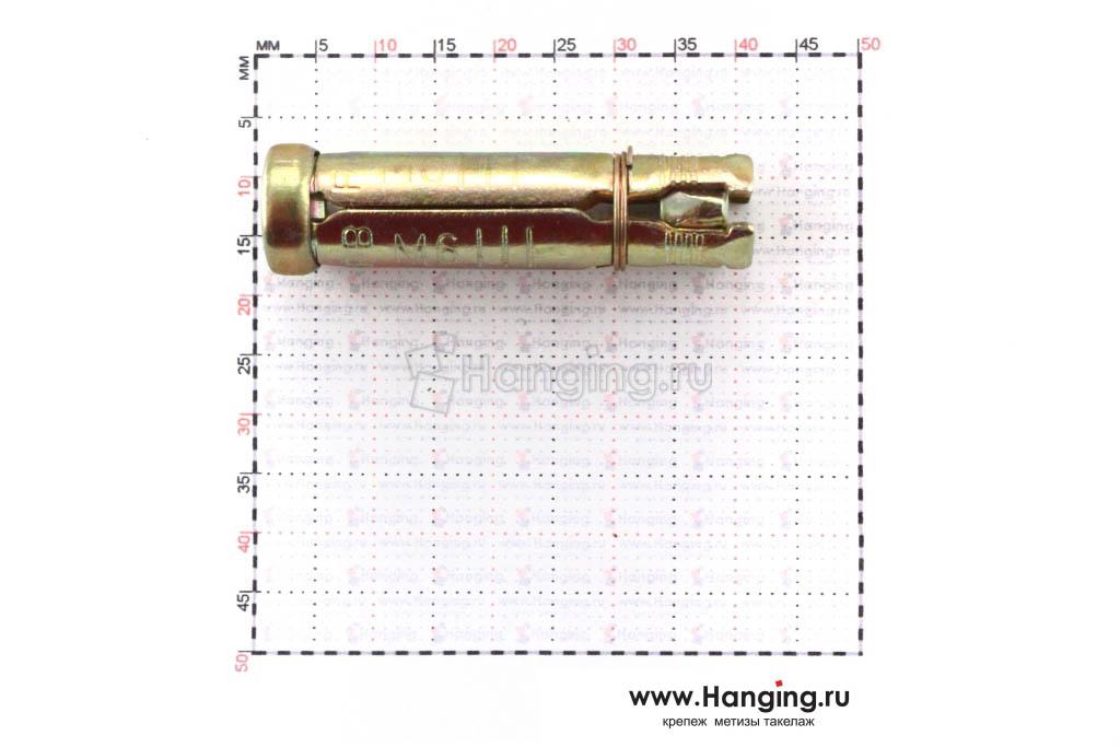 Размеры анкерной гильзы М6