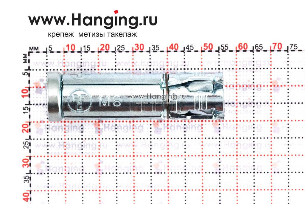 Размеры анкера Sormat PFG ES М8