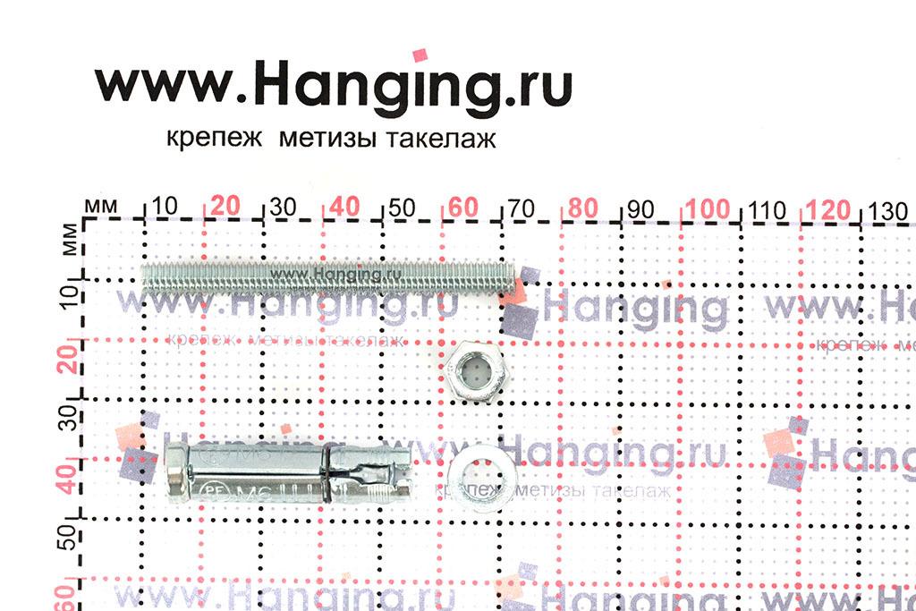 Составные части анкера Сормат SB М6/15