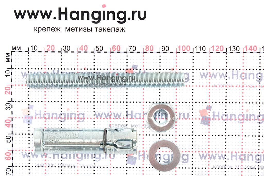 Составные части анкера Сормат SB М10/20