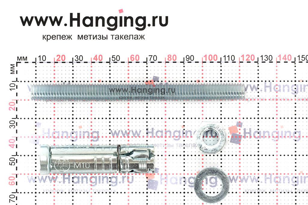 Составные части анкера Сормат SB М10/40