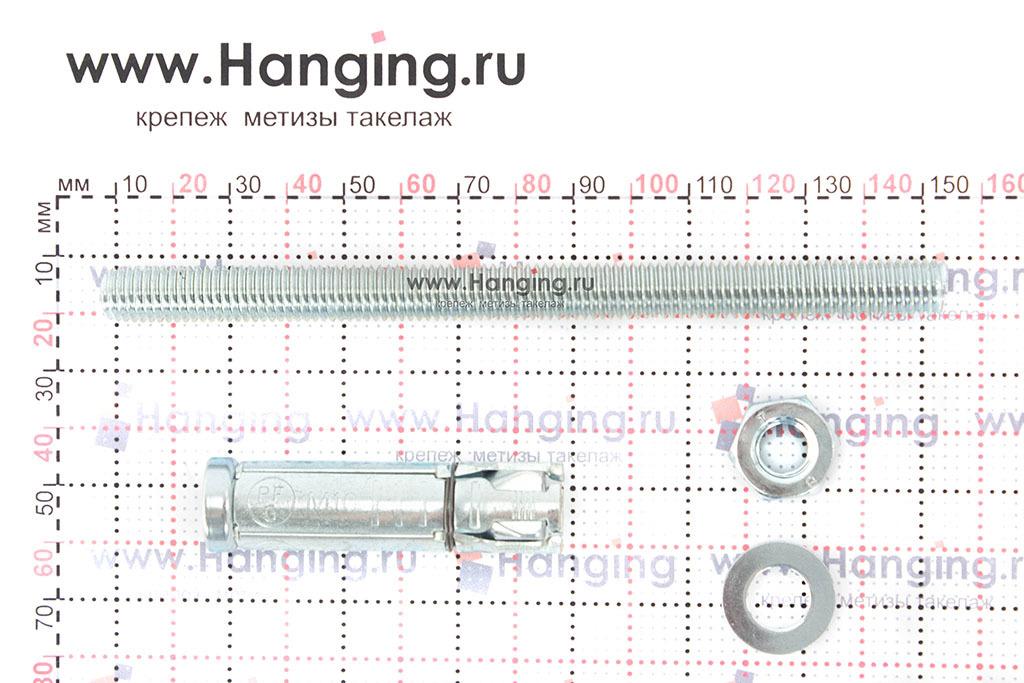 Составные части анкера Сормат SB М10/70