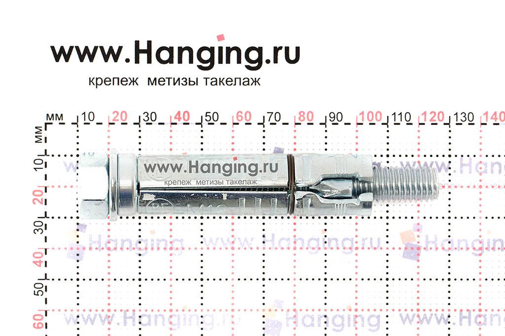 Размеры анкерной гильзы и шпильки Sormat SB М12/20 М12х115