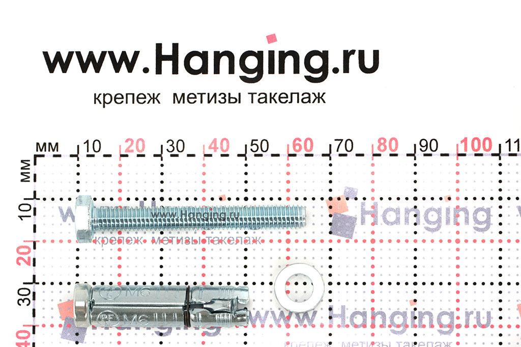 Составные части анкера М6х60 Sormat LB
