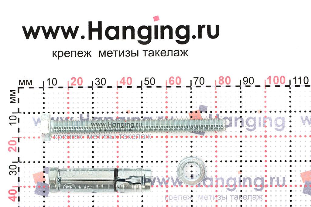 Составные части анкера М6х80 Sormat LB