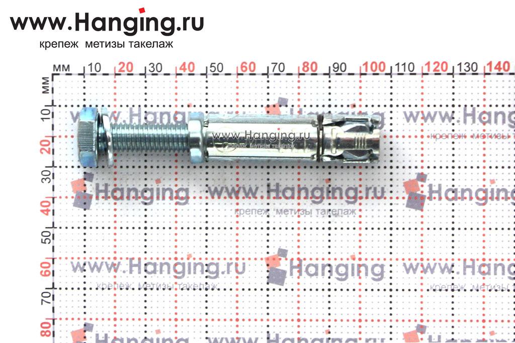 Размеры анкерной гильзы Сормат LB М10*106/35