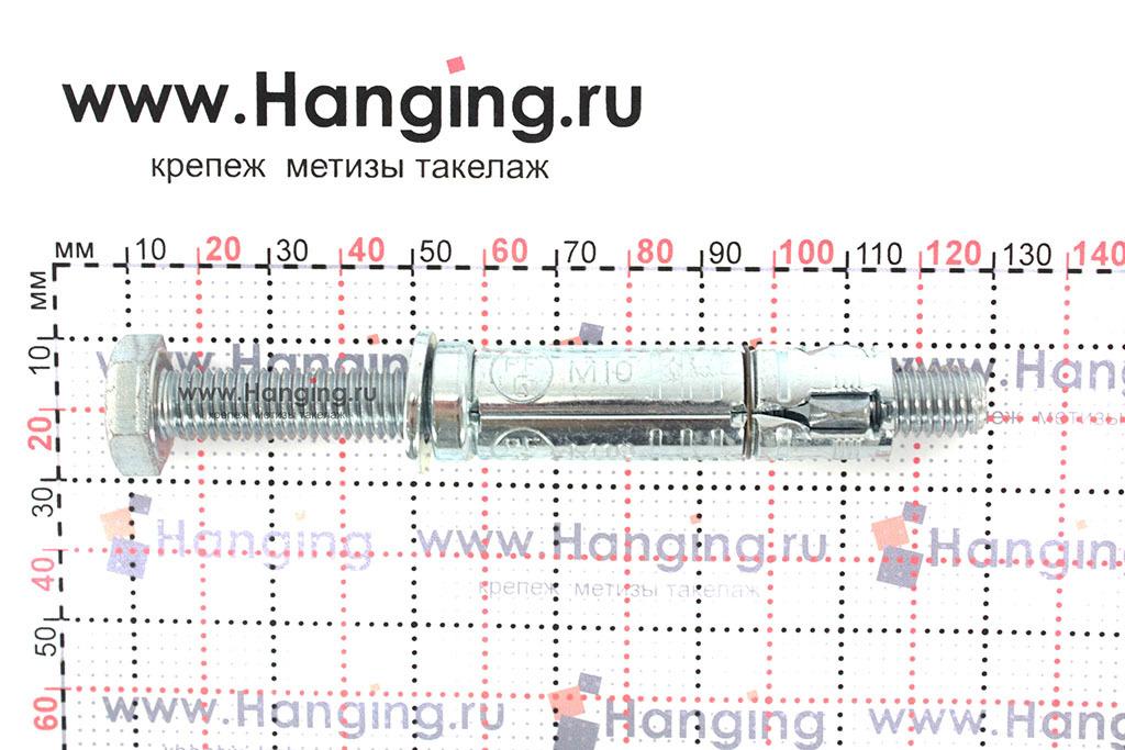 Размеры анкерной гильзы Сормат LB М10*126/55