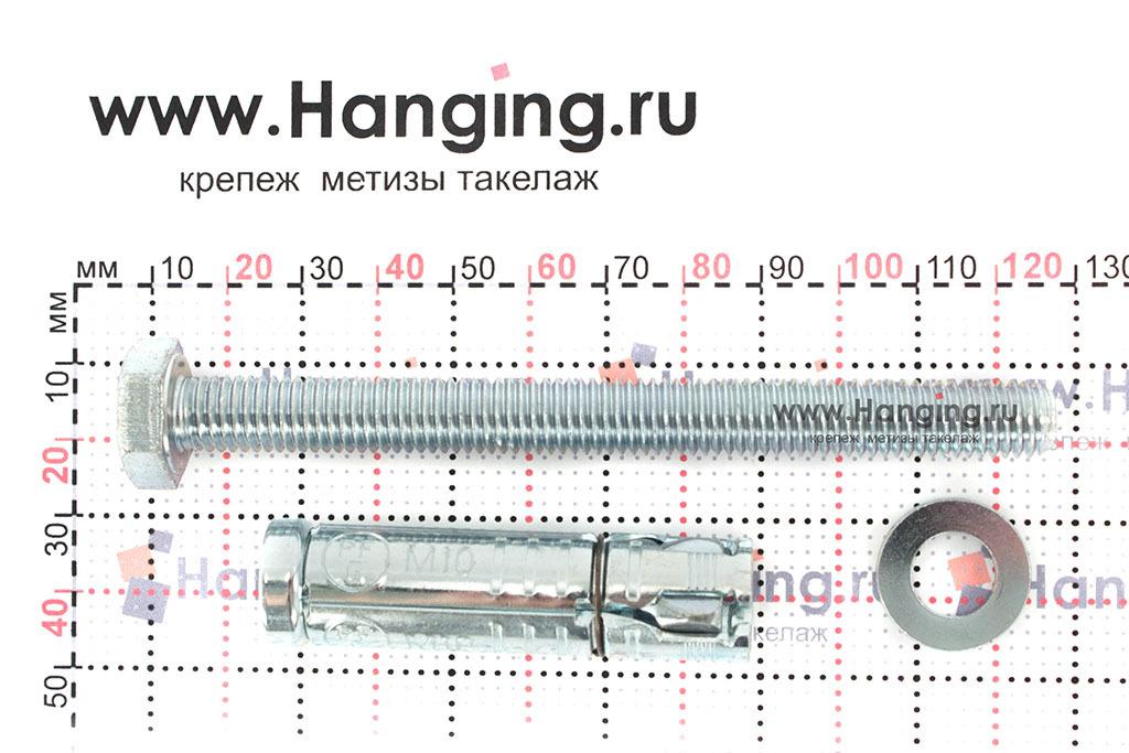Составные части анкера М10х126 Sormat LB