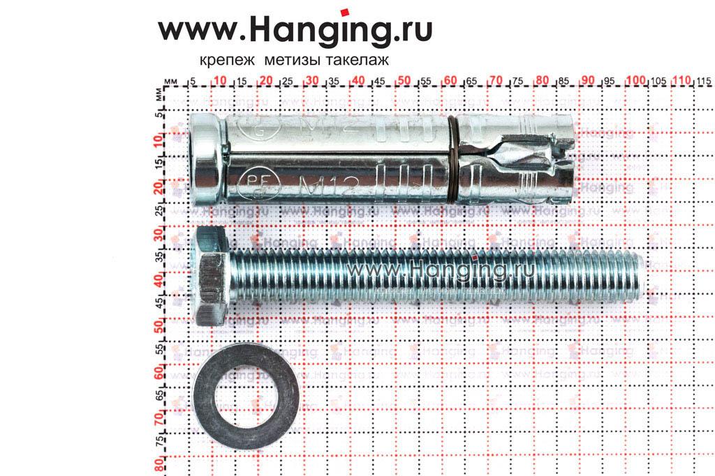 Составные части анкера М12х115 Sormat LB