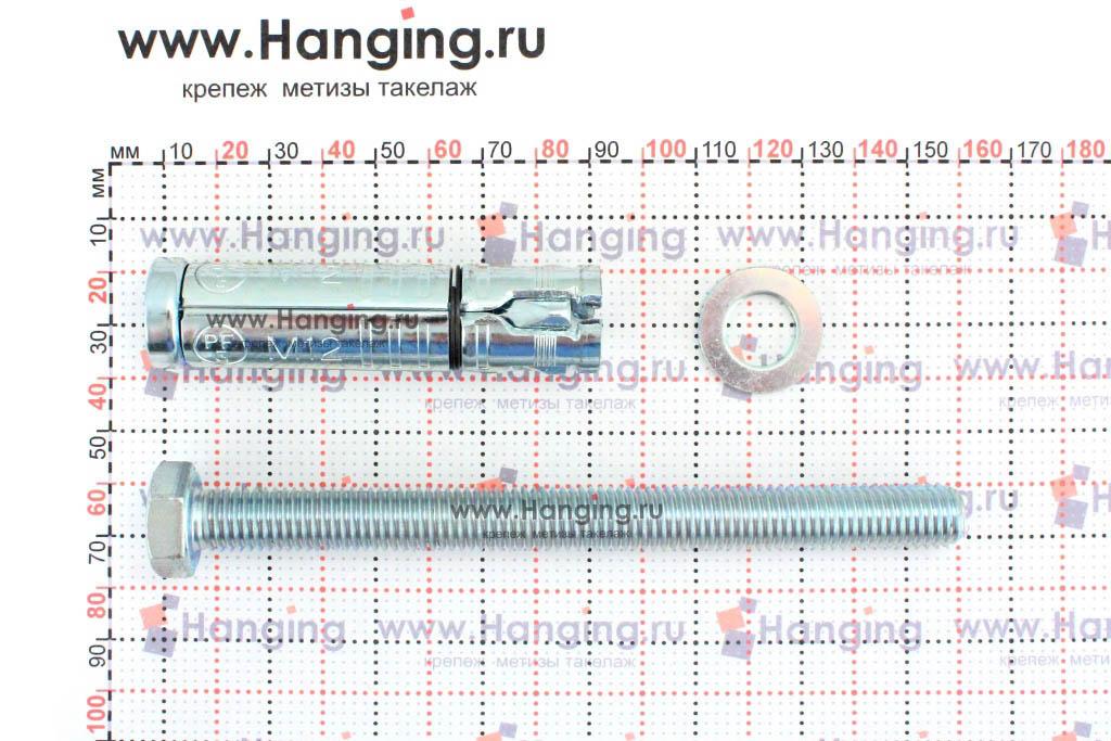 Составные части анкера М12х145 Sormat LB