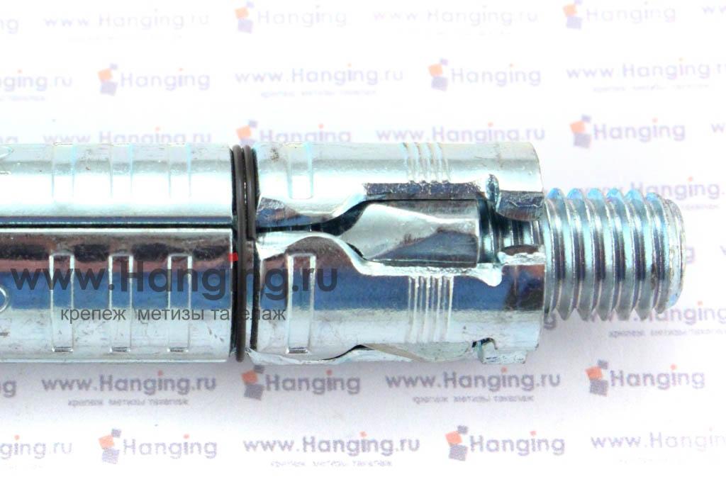 Расклинивание анкерной гильзы с болтом Сормат LB М12х145-50