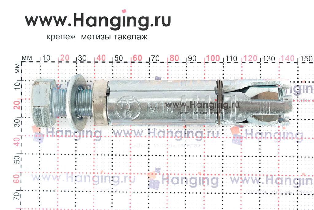 Размеры анкерной гильзы Сормат LB М16*148/30