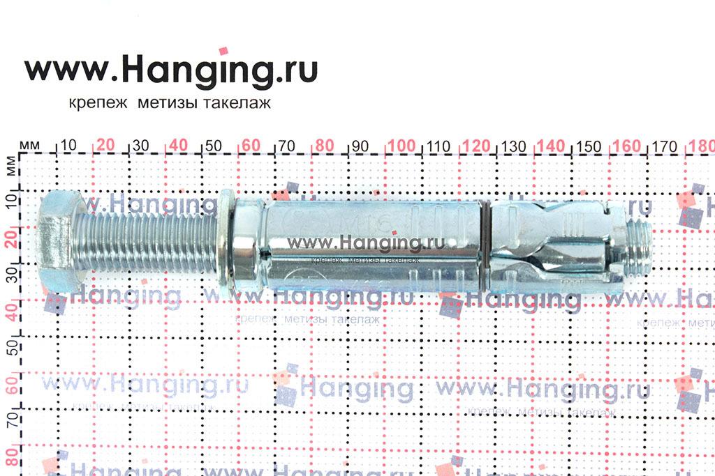 Размеры анкерной гильзы Сормат LB М16*178/60