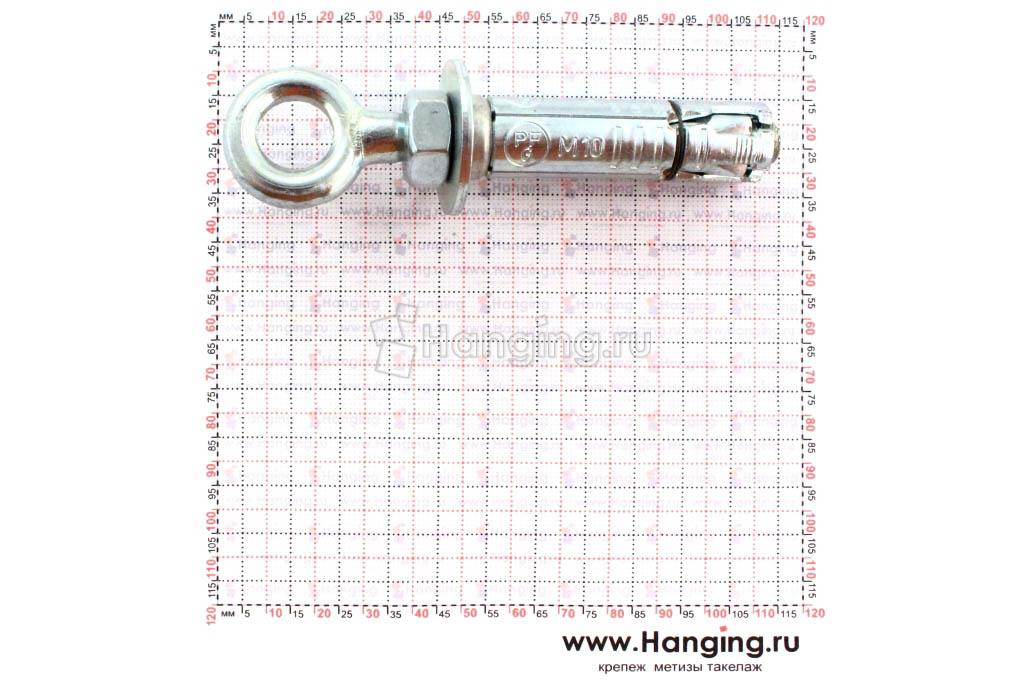 Размеры анкера петли Сормат EBF М10