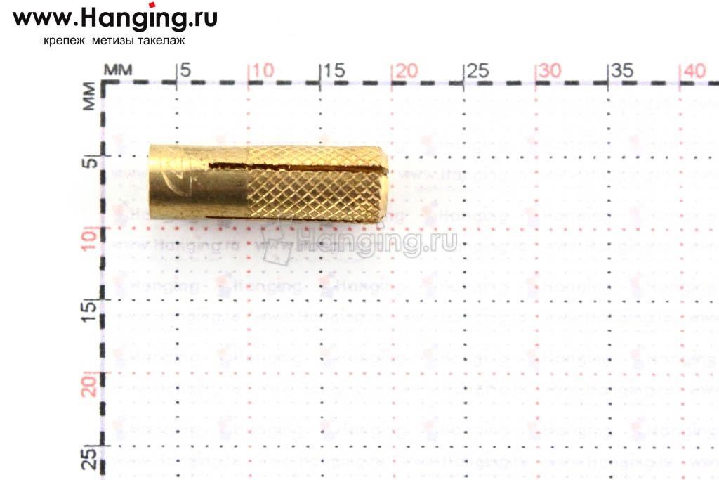 Размеры забиваемого анкера MSA Sormat М4