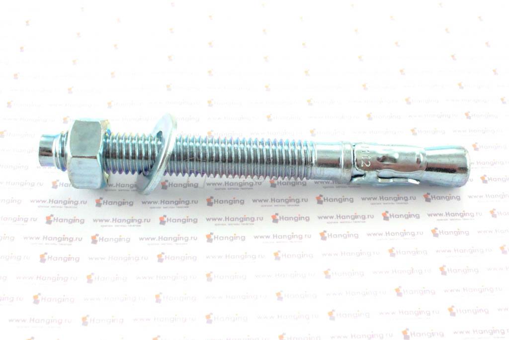 Клиновой анкер 12х120, белый цинк, Letfix