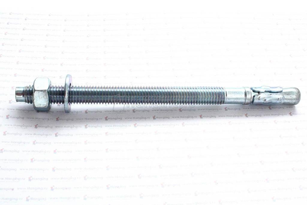Клиновой анкер 12х185, белый цинк, Letfix