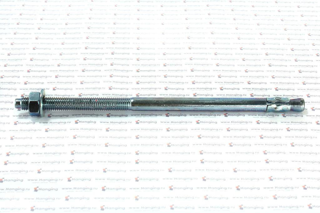 Клиновой анкер 12х250, белый цинк, Letfix