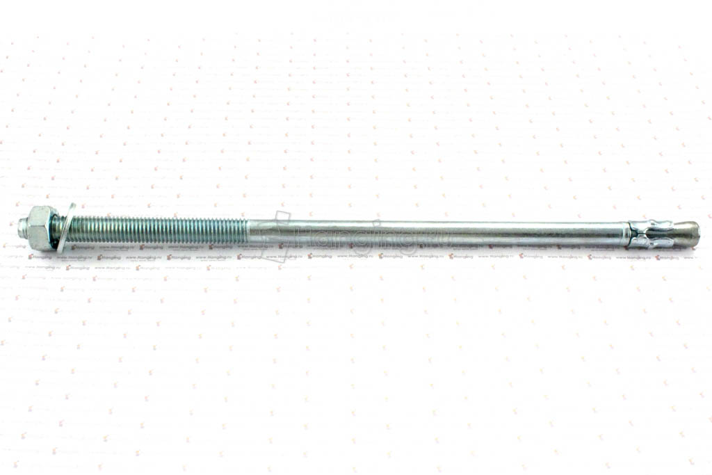 Анкер клиновый оцинкованный М12x300