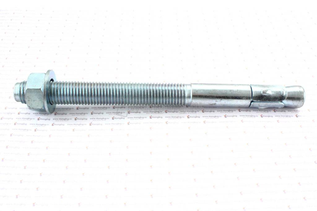 Клиновой анкер 20х240, белый цинк, Letfix