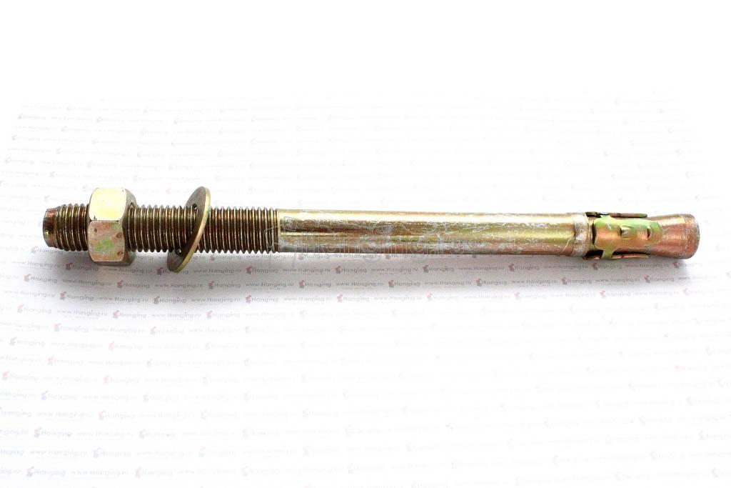 Клиновой анкер 16х220, желтый цинк, Letfix
