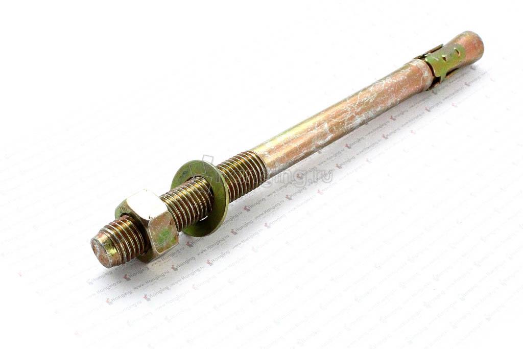 Анкер клиновый желтый М16х220