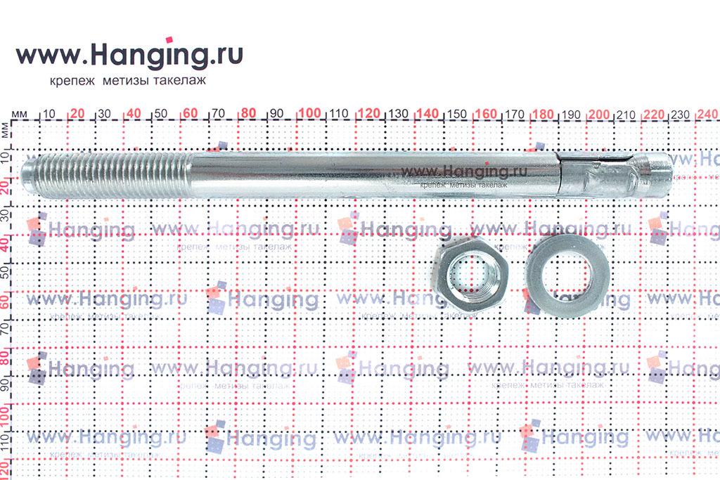 Составные части для анкера клинового 16х213 Sormat S-KA