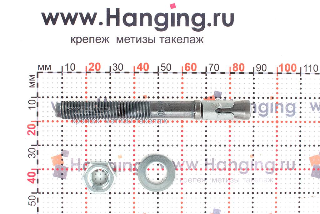 Составные части анкера mungo m2 М8х80