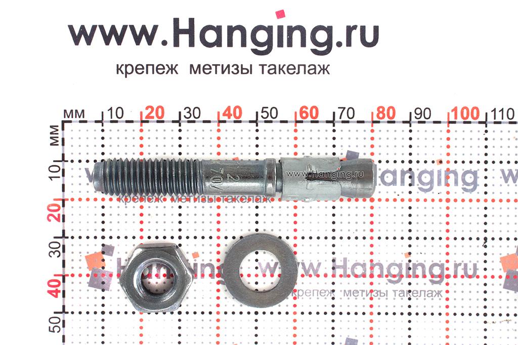 Составные части анкера mungo m2 М10х70