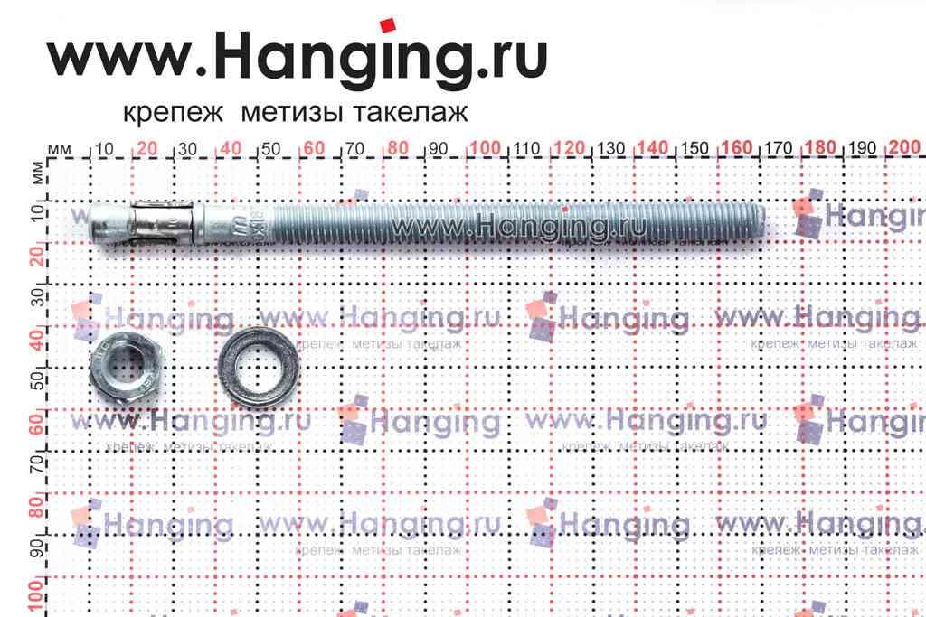 Составные части анкера mungo m2 М10х160