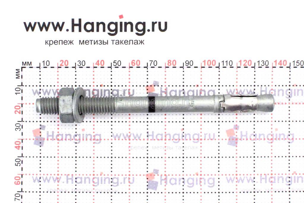 Сегменты анкера клинового с покрытием Геомет М10*130