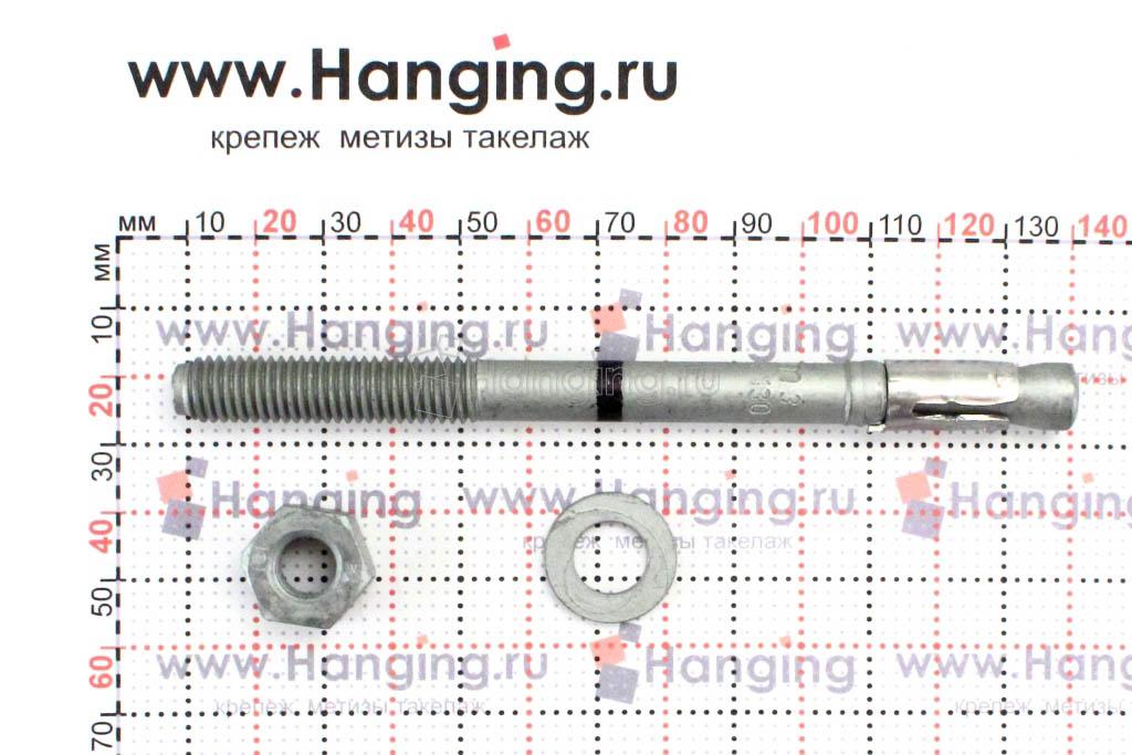 Размеры анкера 10*130 Mungo m3