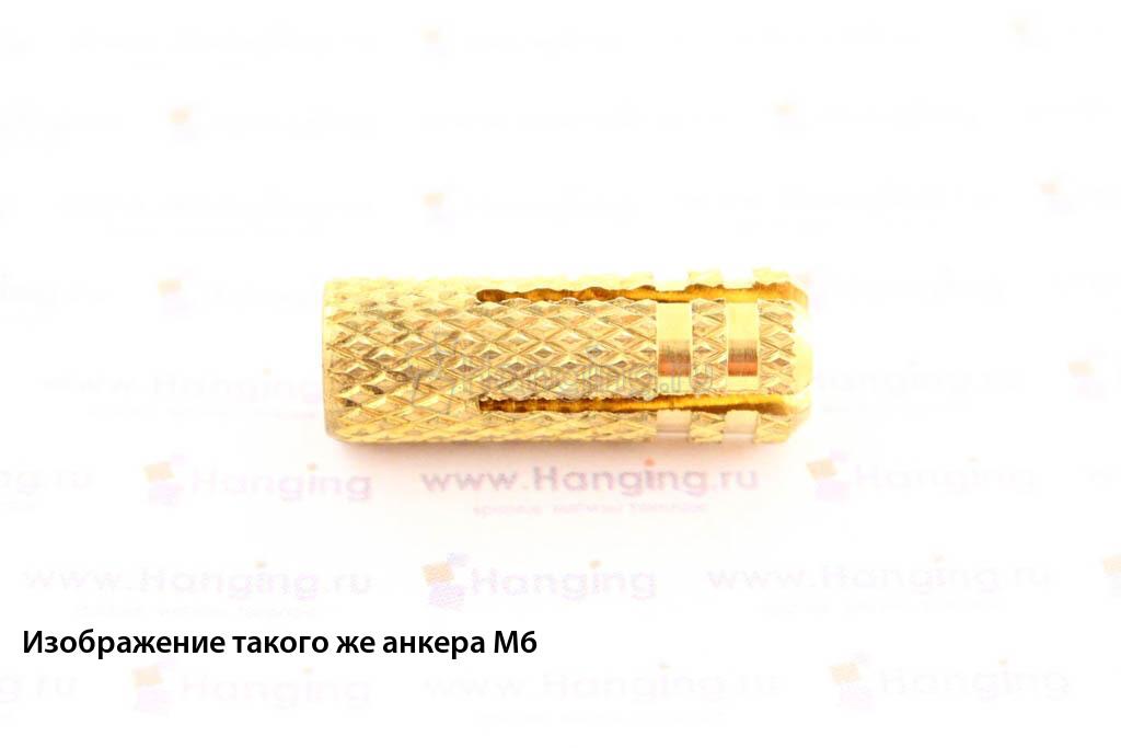 Анкер забиваемый из латуни М8 Мунго MMD