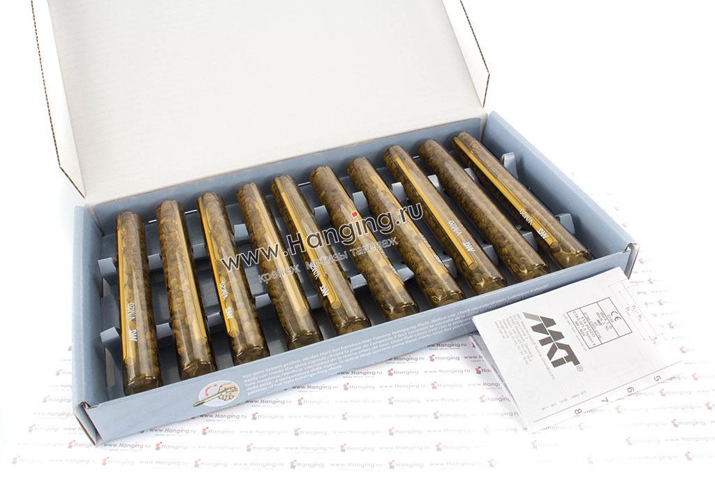 Открытая коробка с химическими анкерами МКТ V-P М20