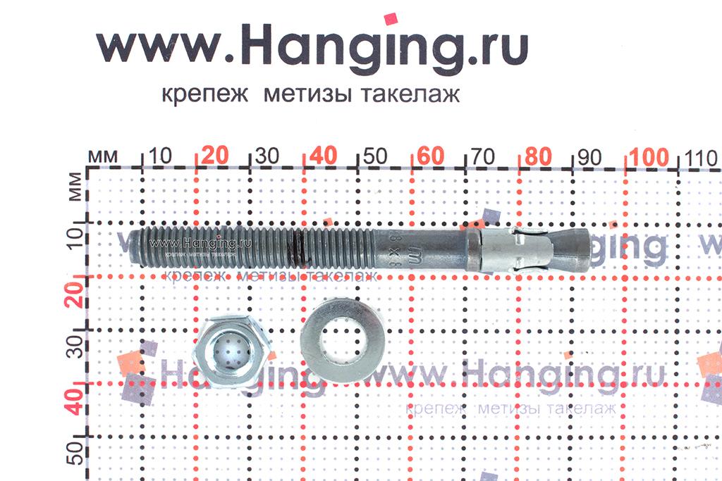 Составные части анкера mungo m2 М8х85