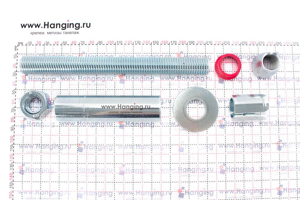 Распорный сегмент анкерного болта с гайкой MKT SZ-B М20 / 28*201