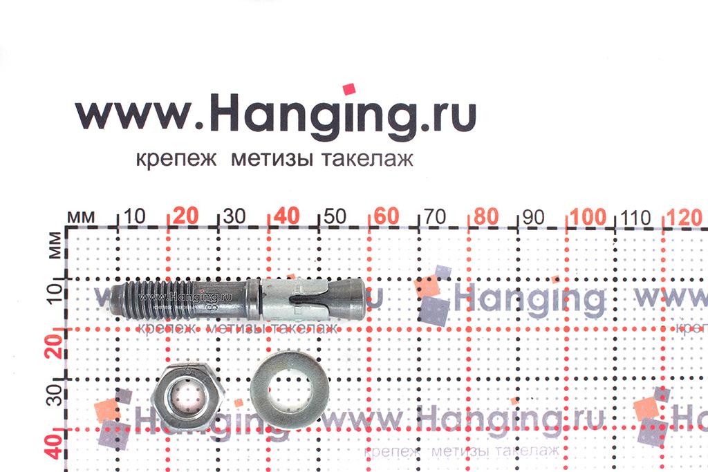 Составные части анкера mungo m2 М8х60