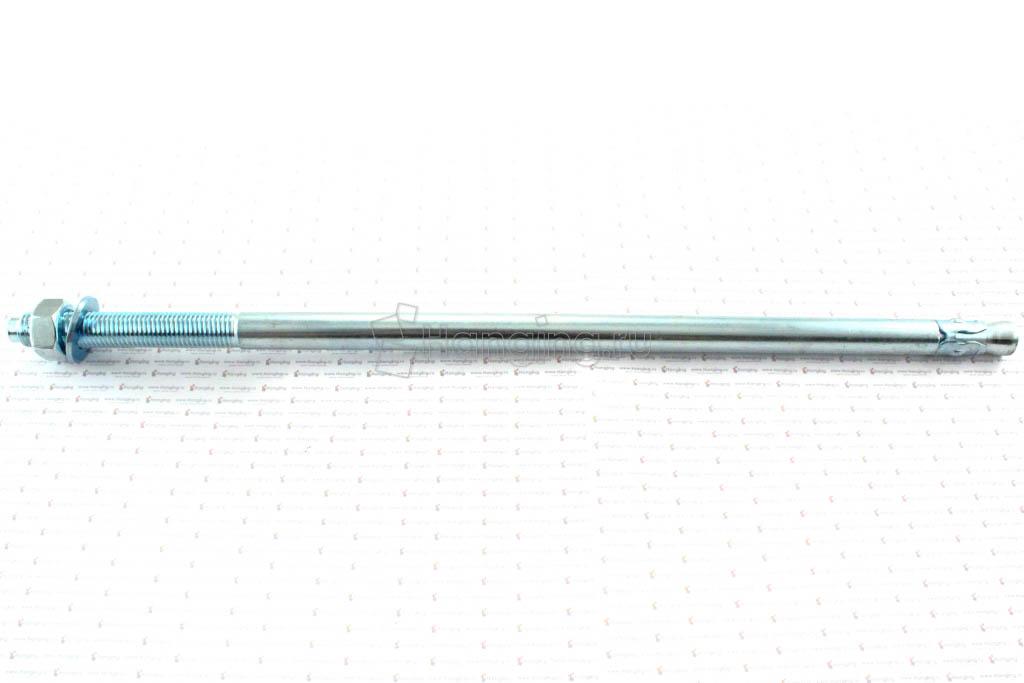 Клиновой анкер 16х440, белый цинк, Letfix