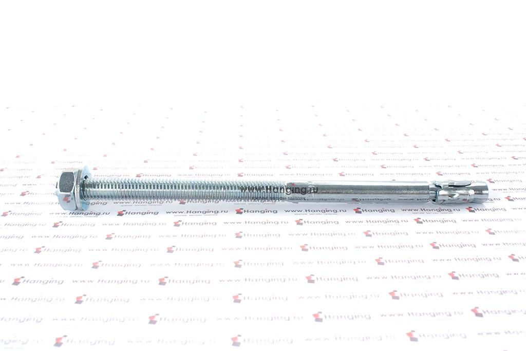 Клиновой анкер 10х190, белый цинк, Letfix