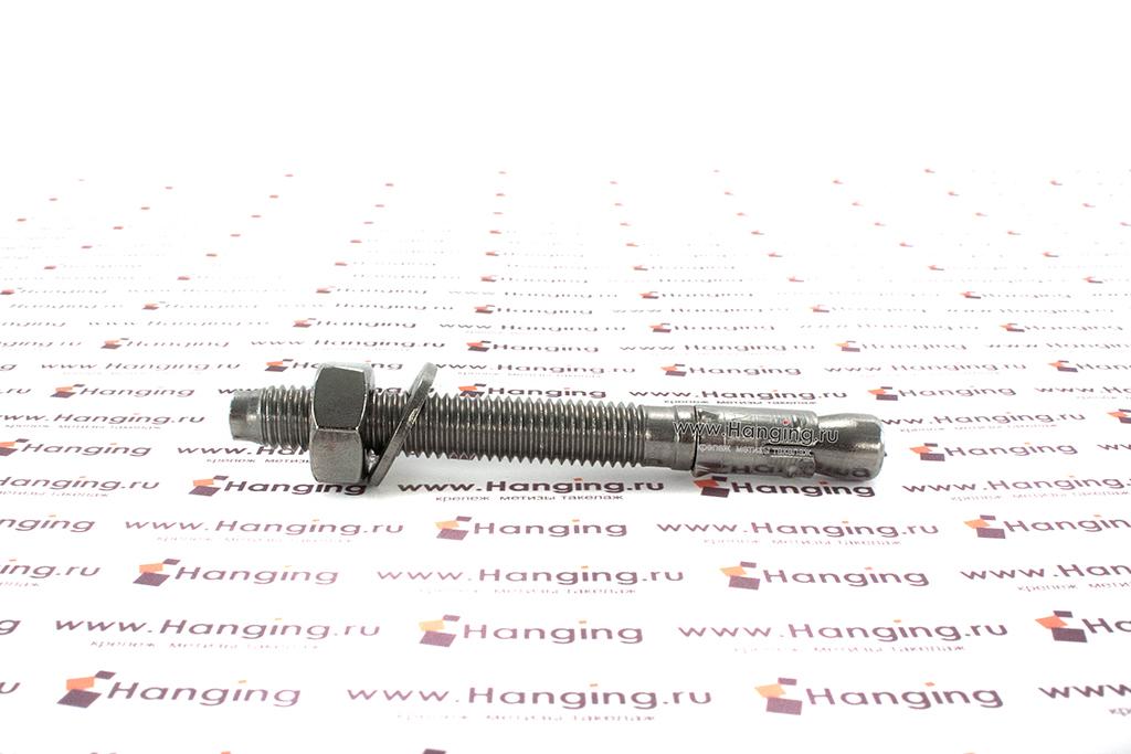 Анкер клиновой М10х95, нержавеющая сталь A4, Letfix
