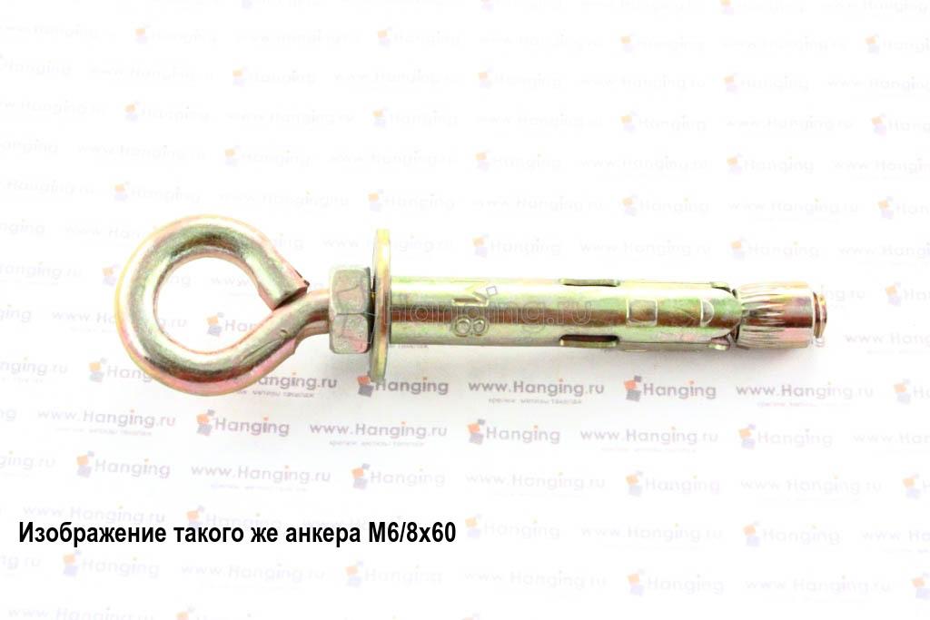 Анкерный болт с кольцом М6/8х80