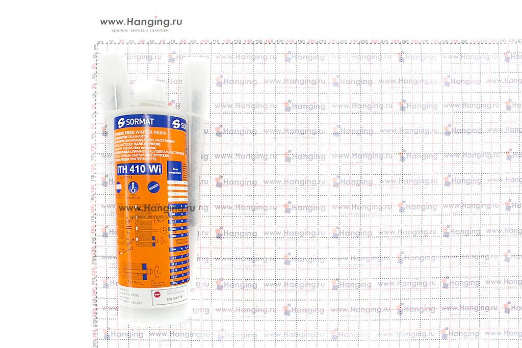Размеры тюбика 410 мл химического анкера Sormat ITH 410 Wi для низких температур.