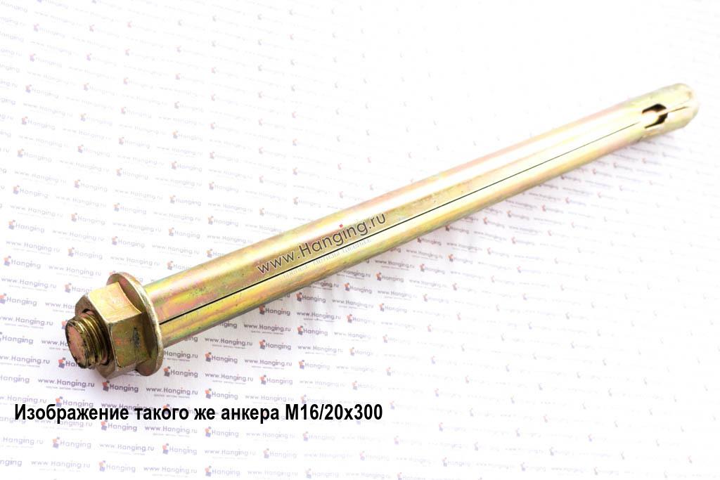 Анкерный болт с гайкой 20*330 мм (М16/20х330)