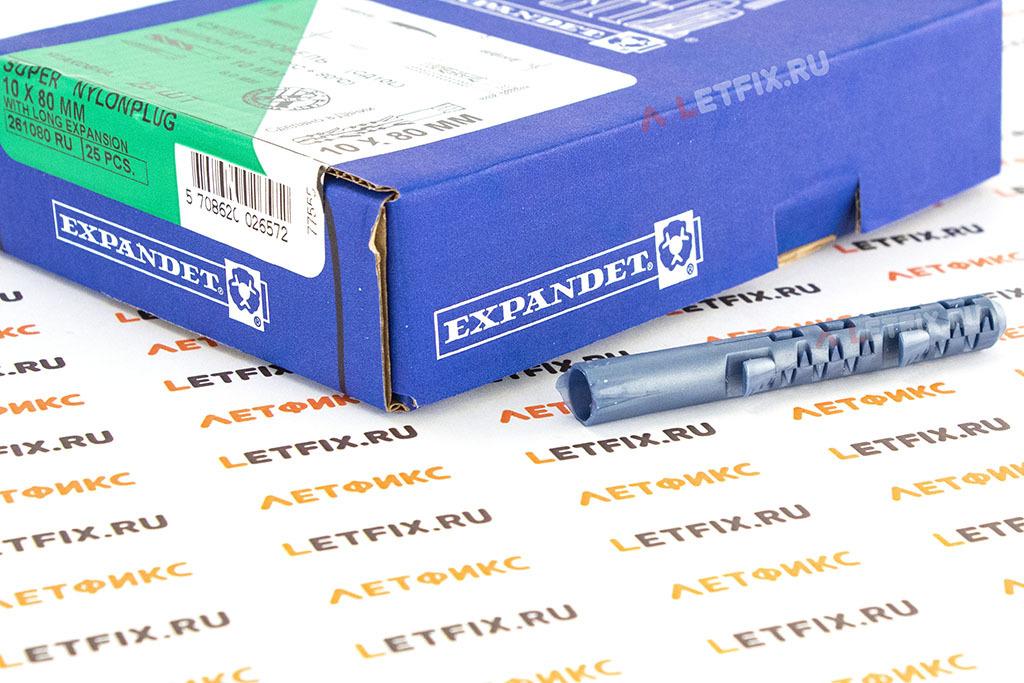 Упаковка дюбелей Expandet 10*80 мм